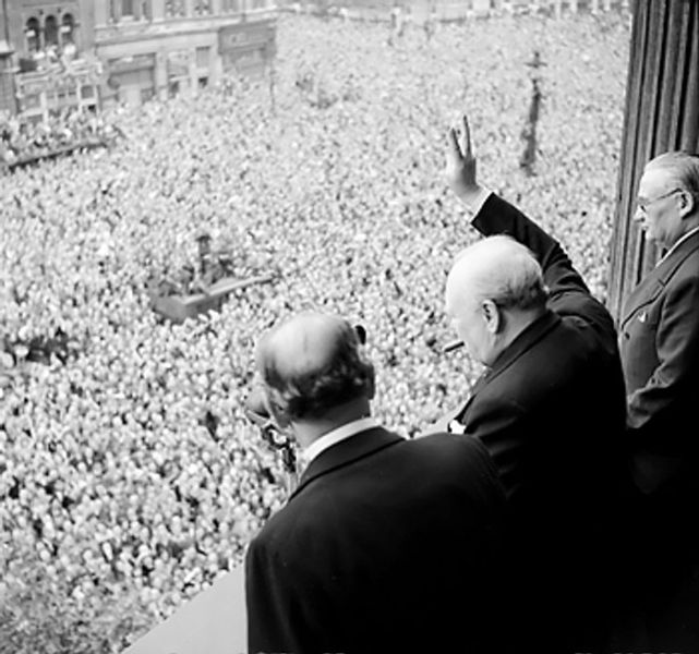 Churchill was estranged from his political party during the years leading up to World War II.