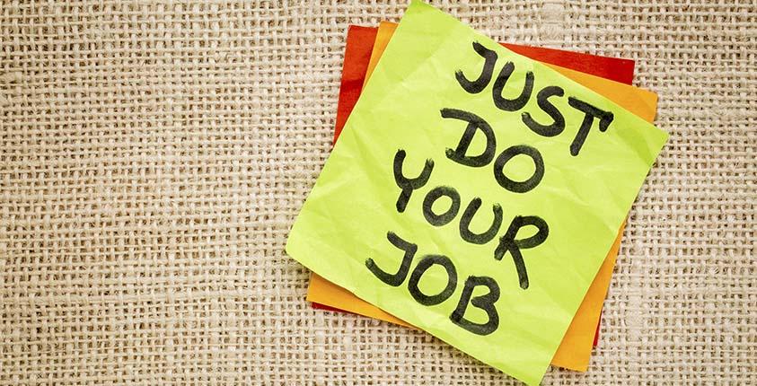 Do Your Job – GoSmallBiz.com