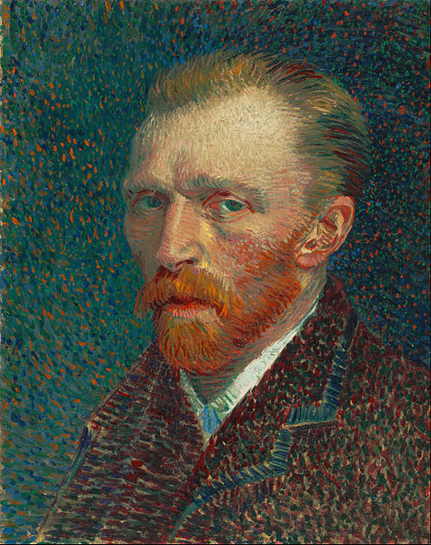 Van Gogh only sold one painting in his lifetime, just months before his death.