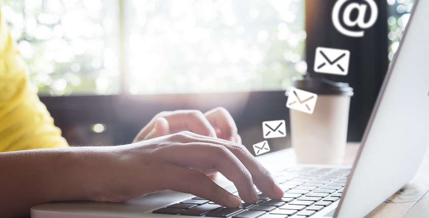 Professional Emails from Your Business header